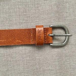Levi's brown belt (S)